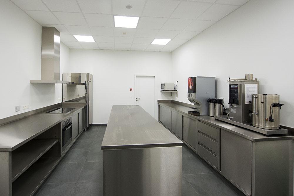 Keuken - Aula - Groep Schaubroeck